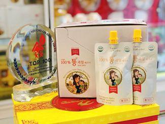Nước Ép Lê Mom's Choice Hàn Quốc