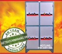 Tủ sắt bảo mật trusafe TH4C 4 Cánh khóa cơ