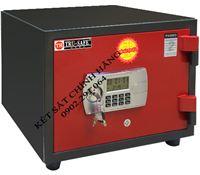 Két sắt trusafe TH80 khóa điện tử có báo động (màu đỏ)