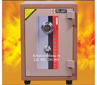 Két Sắt trusafe mini KD82 chống cháy khóa cơ