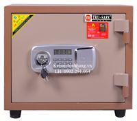 Két sắt trusafe TH83 khóa điện tử có báo động (màu đồng)