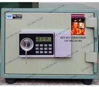 Két sắt mini chống cháy Hòa Phát KS36N Pro điện tử