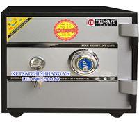 Két sắt trusafe mini KTS60 chống cháy khóa cơ đổi mã