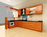 Tủ bếp xoan đào HAGL