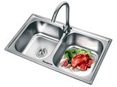 Chậu rửa Inox Kangaroo KG7241