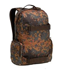 BURTON Emphasis Fleck Camo MOHAVE MENS BACKPACK LAPTOP PAD CARRY SKATEBOARD