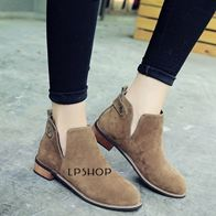 ANKLE BOOTS BROWN LP0005