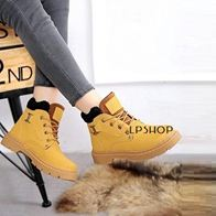 AODA BOOTS YELLOW LP0006