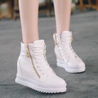 ZIPPER SNEAKER WHITE LP0424