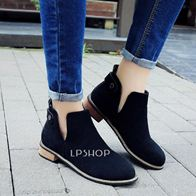ANKLE BOOTS BLACK LP0004