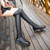 THIGH-HIGH BOOTS BLACK LP0009
