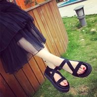 STRAPPY SANDALS NỮ BLACK LP5001