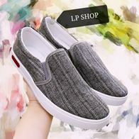 SLIP ON DARK GREY LP0205
