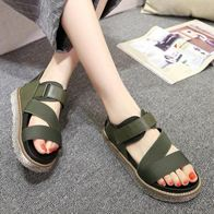 STRAPPY SANDALS OLIVE LP5003