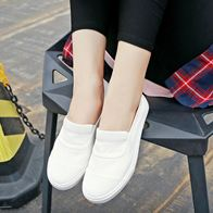 SLIP ON ULZZANG WHITE LP0763