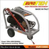 Máy phun rửa công nghiệp 15KW EUROTECH - ITALY