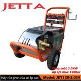 Máy phun rửa xe ô tô 3 KW - áp lực phun 120 Bar