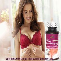 Viên uống nở ngực No.1 breast enlargement USA