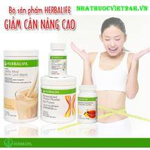 Bộ 4 sữa giảm cân Herbalife cao cấp