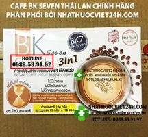 BK SEVEN COFFEE NHÀ NHẬP KHẨU CHÍNH HÃNG VIỆT NAM