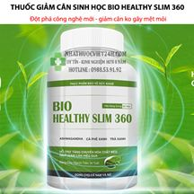 Thuốc Giảm Cân Sinh Học Bio Healthy Slim 360
