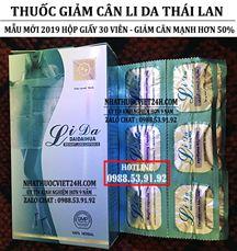 Thuốc Giảm Cân Lida Thái Lan
