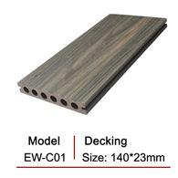 Sàn gỗ ngoài trời 2 lớp rỗng