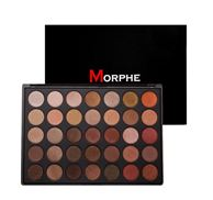 Bảng Phấn Mắt Morphe Eyeshadow Palette 35Os - 35 Color Shimmer Nature Glow