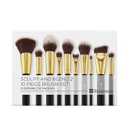 Bộ Cọ 10 Cây BHCosmetics Makeup 10 Piece Brush Set: Sculpt and Blend 2