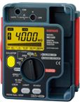 Đồng hồ đo điện trở cách điện megaohm Sanwa MG500