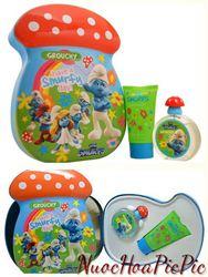 Gift Set Nước Hoa Bé Trai The Smurfs Vanity Edt 50ml