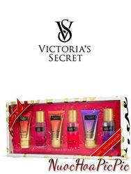 Gift Set 3 Cặp Xịt - Dưỡng Thơm Victoria`s Secret 75ml