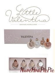 Gift Set Nước Hoa Nữ Valentino Valentina 4 chai 4ml