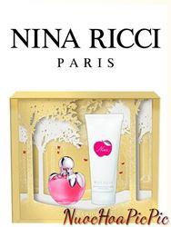 Gift Set Nước Hoa Nữ Nina Ricci Nina Edt 80ml