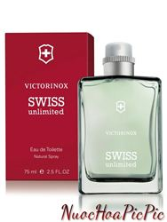 Nước Hoa Nam Victorinox Swiss Army Swiss Unlimited Edt 75ml