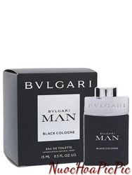 Nước Hoa Nam Bvlgari Man Black Cologne 2016 Edt 15ml