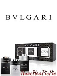 Gift Set Bvlgari Man Collection - 3 Chai 15ml
