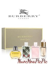 Gift Set Nước Hoa Nữ Burberry - 4 Chai Mini