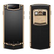 Điện thoại Vertu Ti Gold titanium