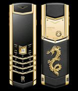 Điện Thoại Vertu Signature S Dragon Gold -