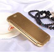 Bao da iPhone6-iPhone6s cao cấp đính đá hiệu Shengo sang trọng