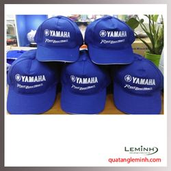 Mũ lưỡi trai vải kaki 100% cotton - KH Yamaha
