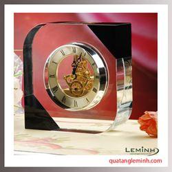 Đồng hồ để bàn pha lê 006
