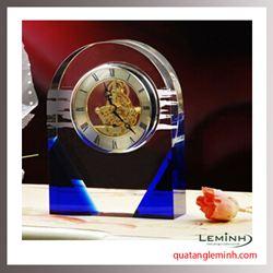 Đồng hồ để bàn pha lê 007