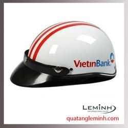 Mũ bảo hiểm quảng cáo - mũ bảo hiểm nửa đầu không kính 003