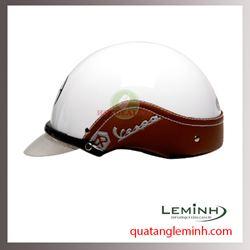 Mũ bảo hiểm quảng cáo - mũ bảo hiểm nửa đầu không kính 037