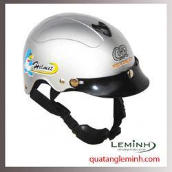 Mũ bảo hiểm quảng cáo - mũ bảo hiểm nửa đầu không kính 036