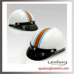 Mũ bảo hiểm quảng cáo - mũ bảo hiểm nửa đầu không kính 022