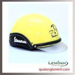 Mũ bảo hiểm quảng cáo - mũ bảo hiểm nửa đầu không kính 029