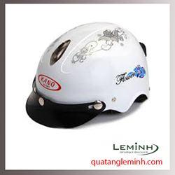 Mũ bảo hiểm quảng cáo - mũ bảo hiểm nửa đầu không kính 033